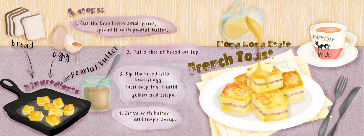 Tdac hk style french toast