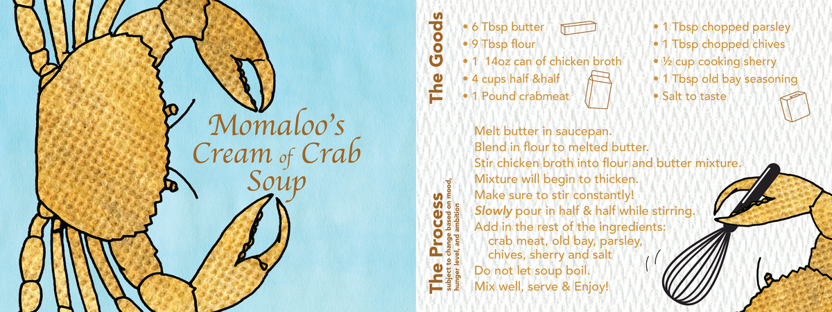 Crab soup recipe