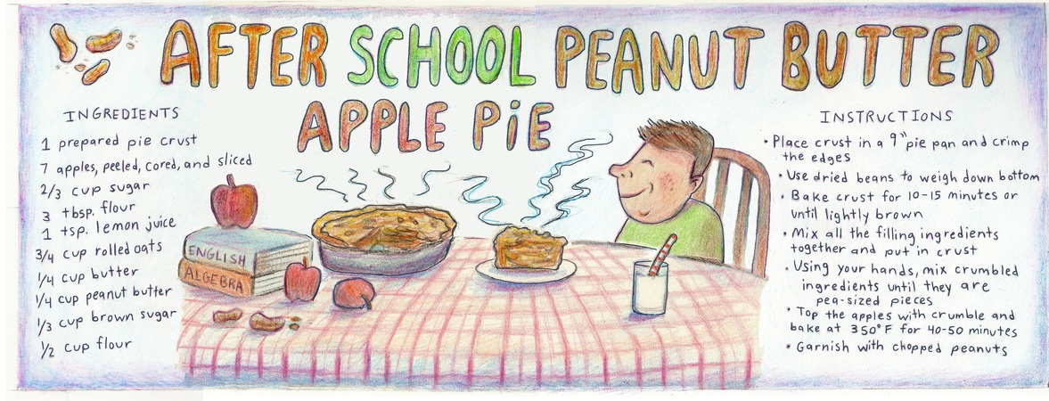 After school pb apple pie