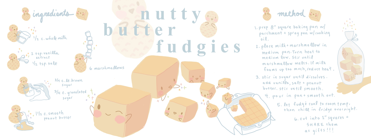 Nuttybutterfudgies theydrawcook