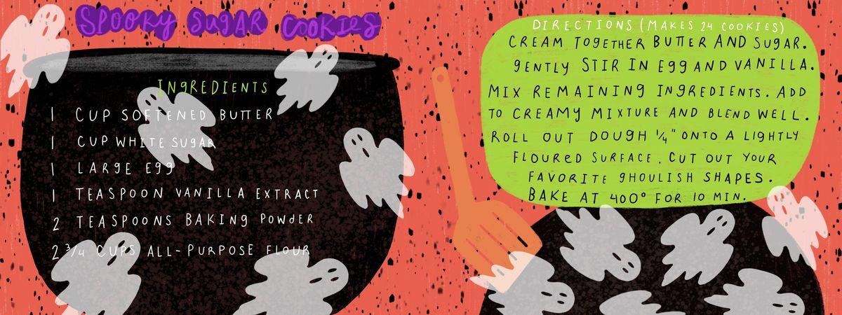 Sam pernoski scary sugar cookies ffaw18