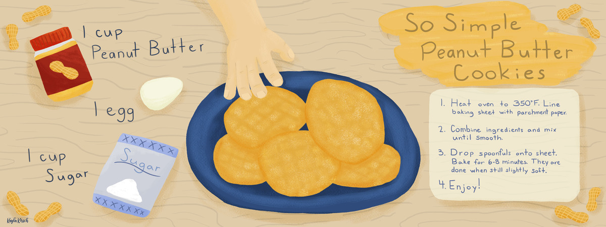 Kayla kirsch sosimplepeanutbuttercookies