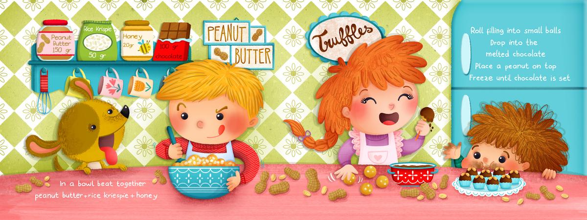 Peanuts truffles