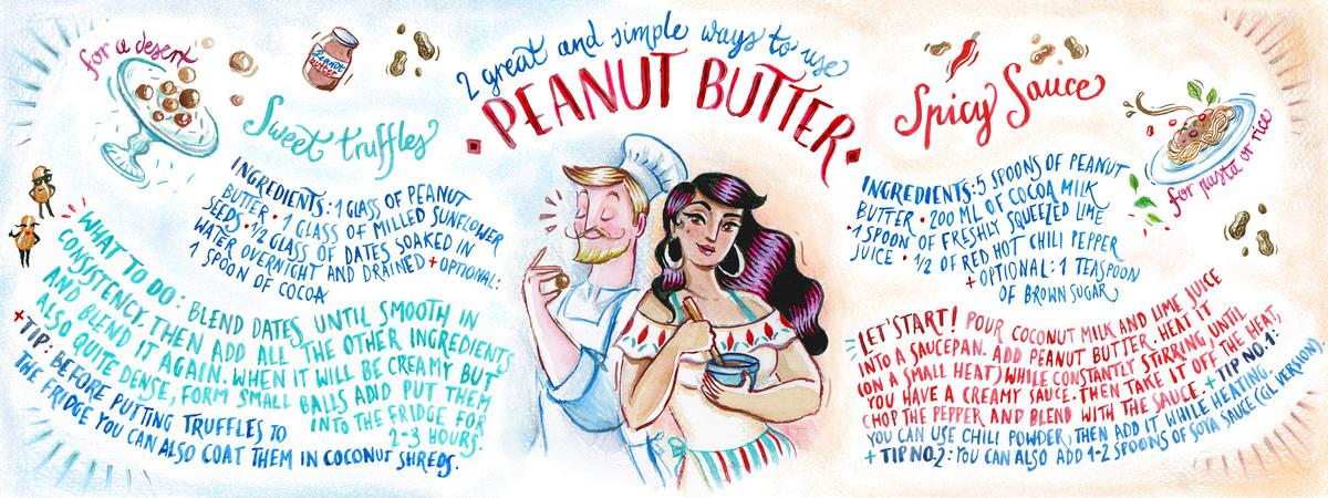 Peanut butter tdac