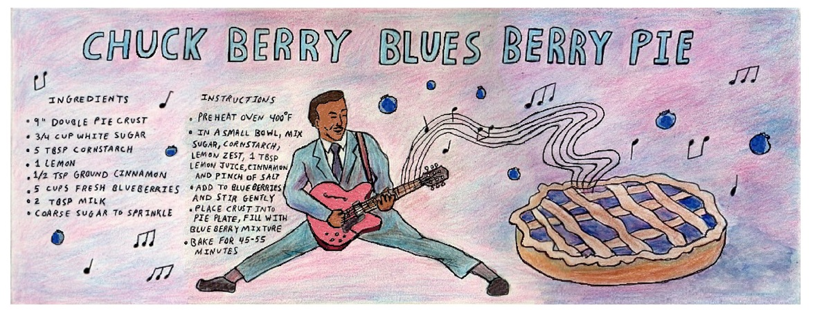 Chuck berry blues berry pie