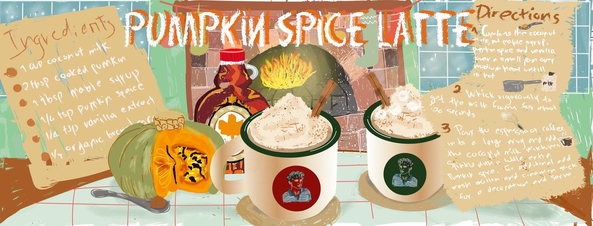 Pumpkin spaice latte