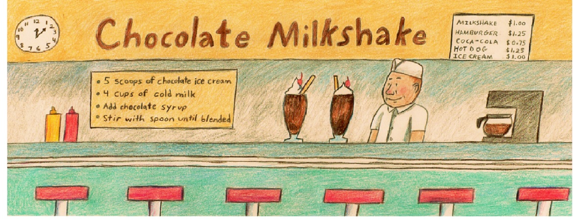 Chocolate milkshake 001