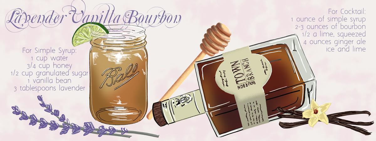 Lavender vanilla bourbon