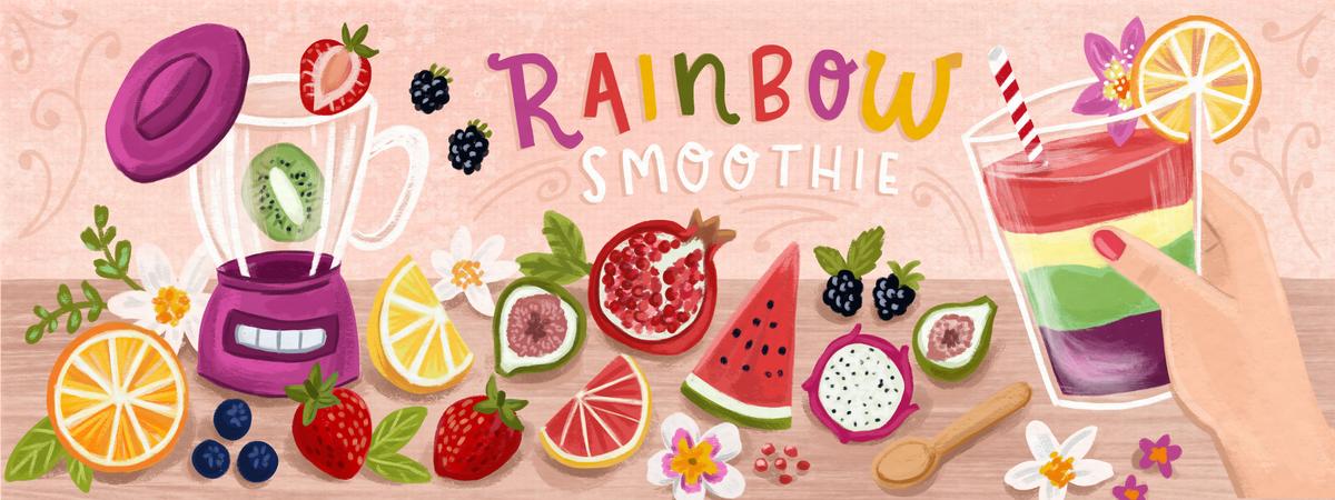 Oliviagibbs rainbowsmoothie