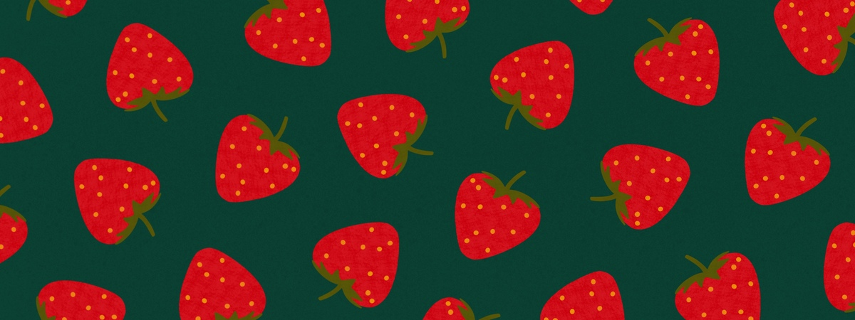 Strawberries by veronica galbraith