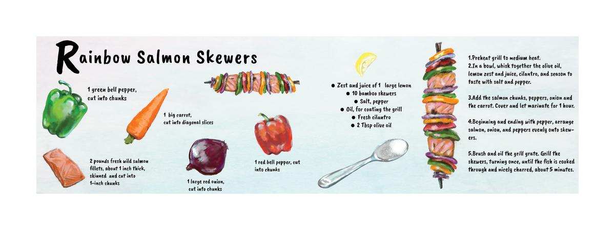 Rainbow skewers silvia ilieva