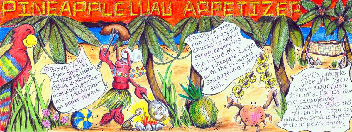 Pineapple luau janda 1