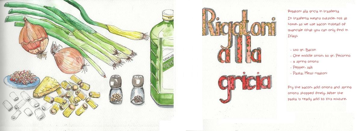 Rigatoni gricia