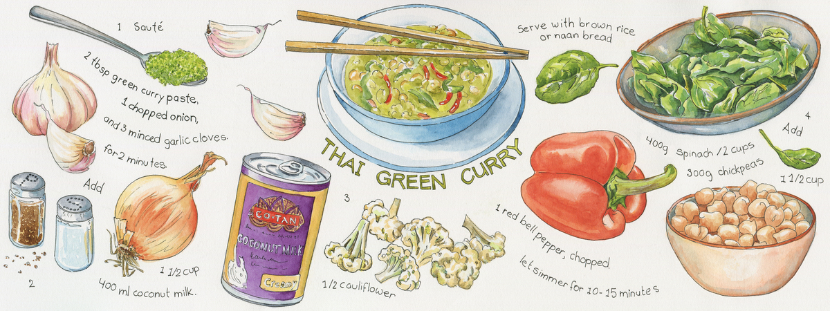 Thai green curry suzanne de nies