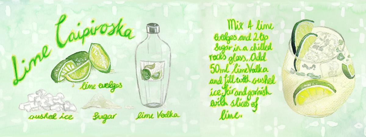 Lime caipiroka for tdac via sbs