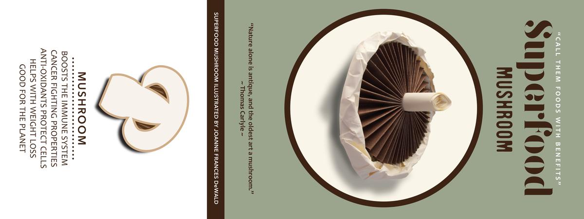 Joanne dewald superfoods mushroom