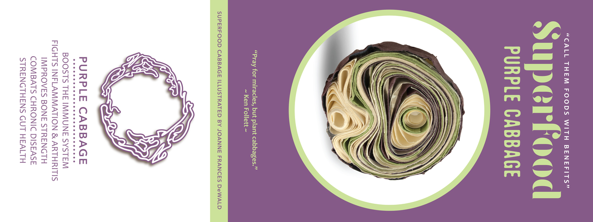 Joanne dewald superfoods purple cabbage