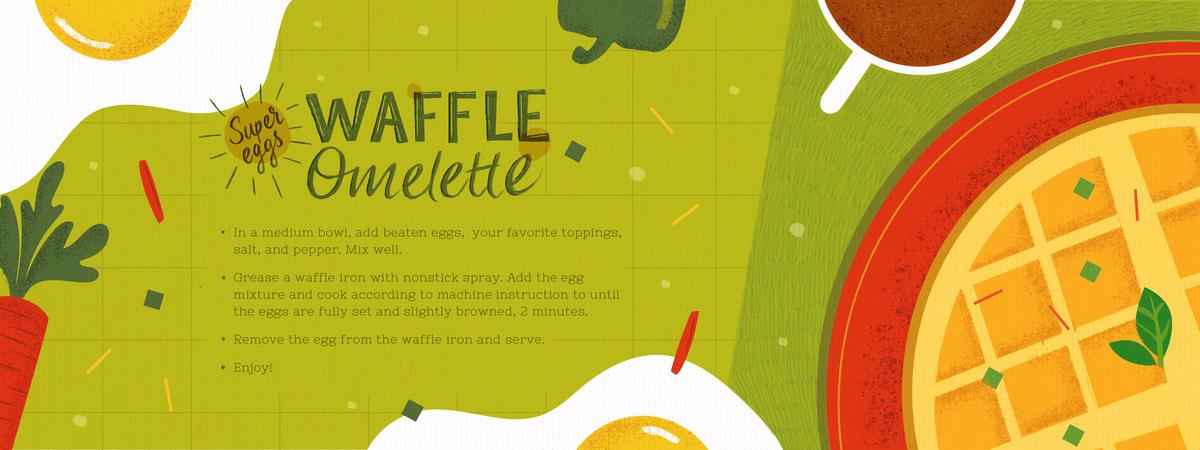 Waffleomelette archie