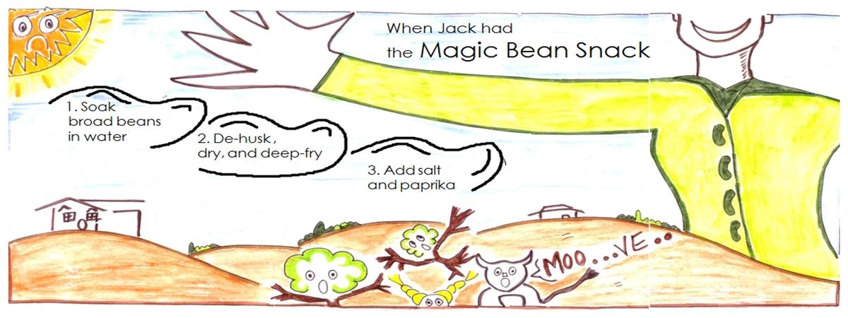 Jack magic bean snack final