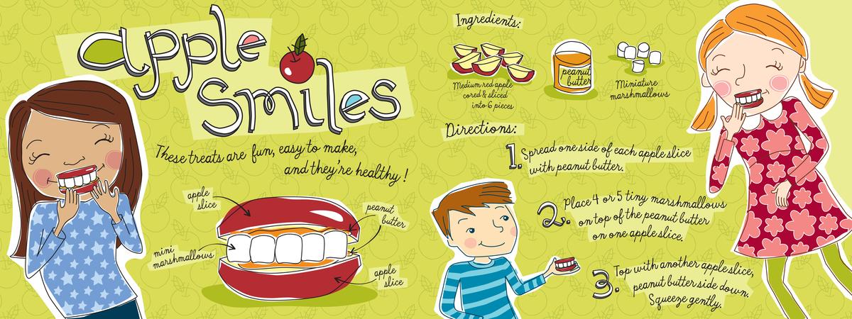 Apple smiles mattocks