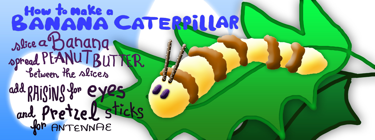 Banana caterpillar