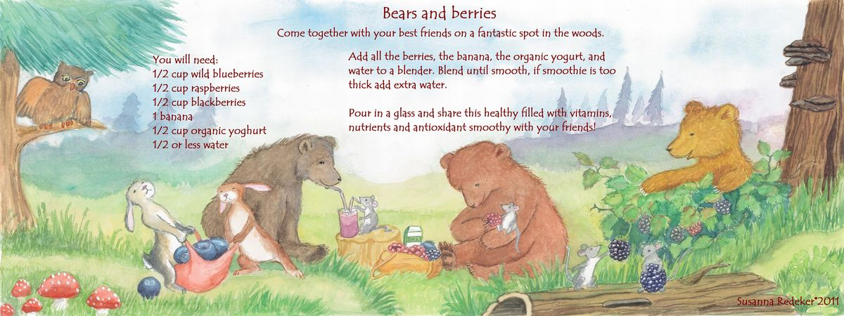 Berries and bears susanna redeker