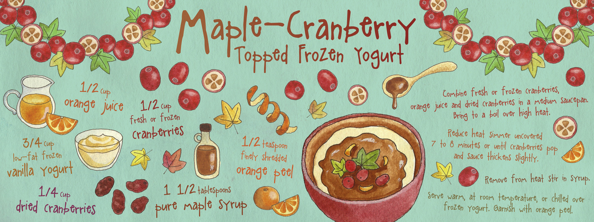 Maple cranberry