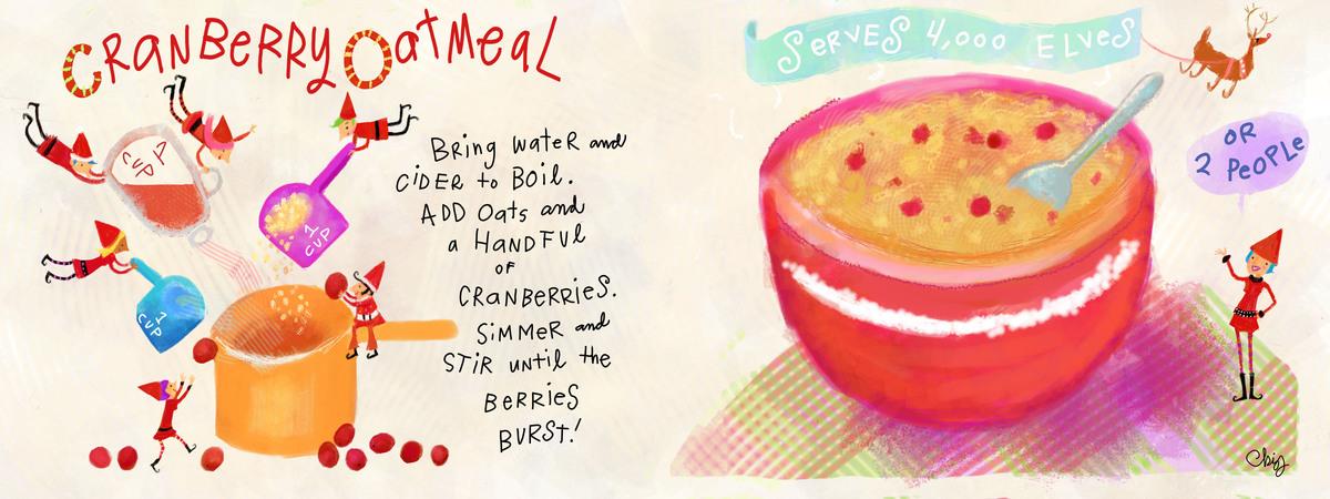 Recipe cranberryoatmeal christy