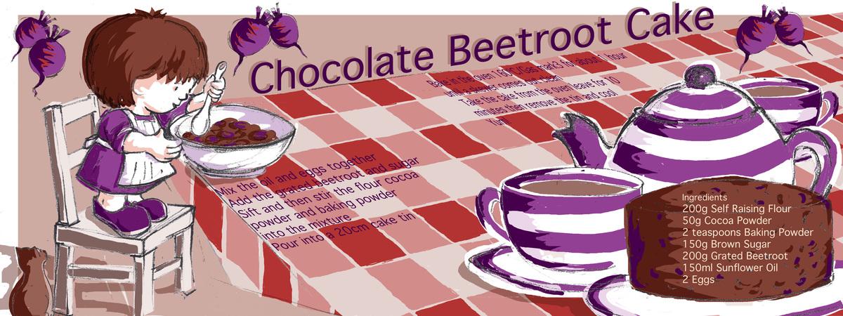 Choc beetroot cake2