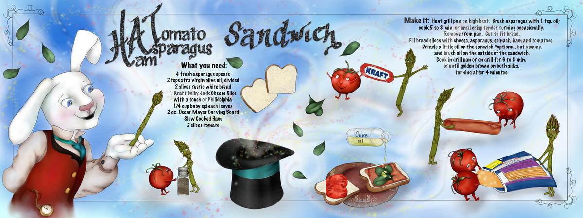 Kraft hat sandwich flt