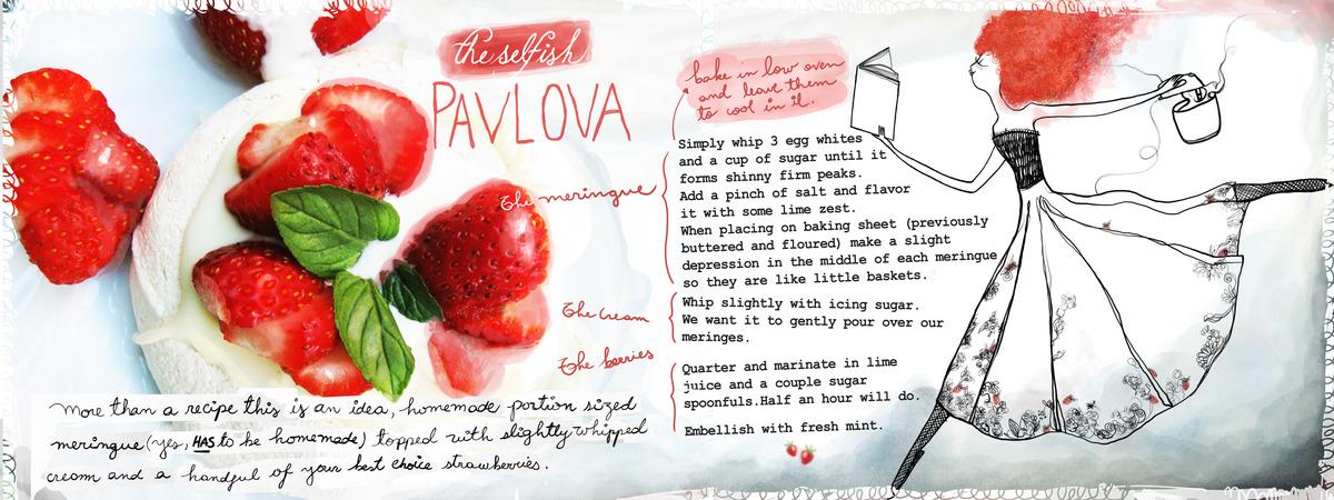 Strawberries meringue tdac