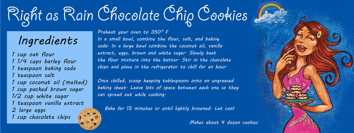 Right as rain chocolate chip cookies