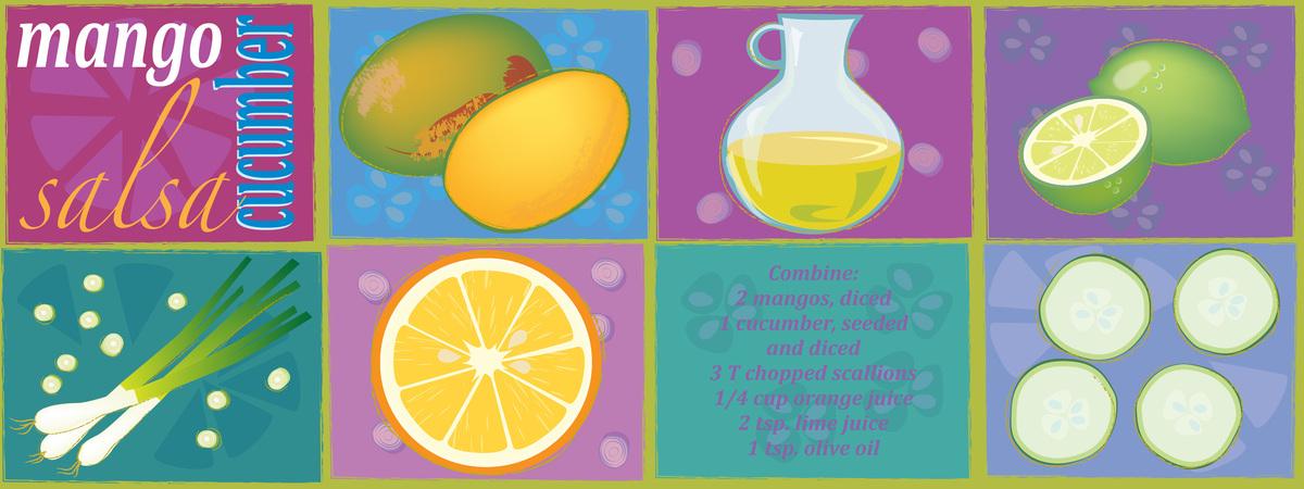 Saldivar mango cucumber