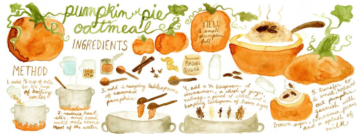 Pumpkin pie oatmeal sl   ashleigh green