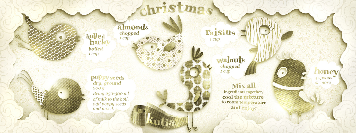 Christmas kutia