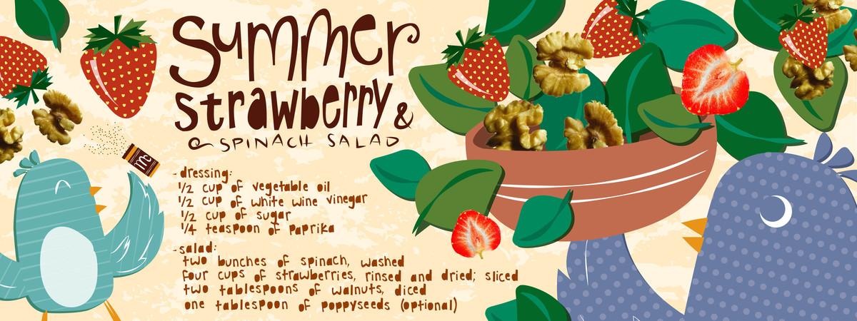 Summerstrawberrysalad