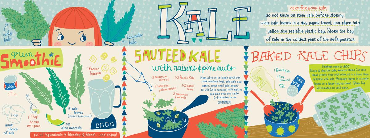 Kale 3 ways tmattocks 2014