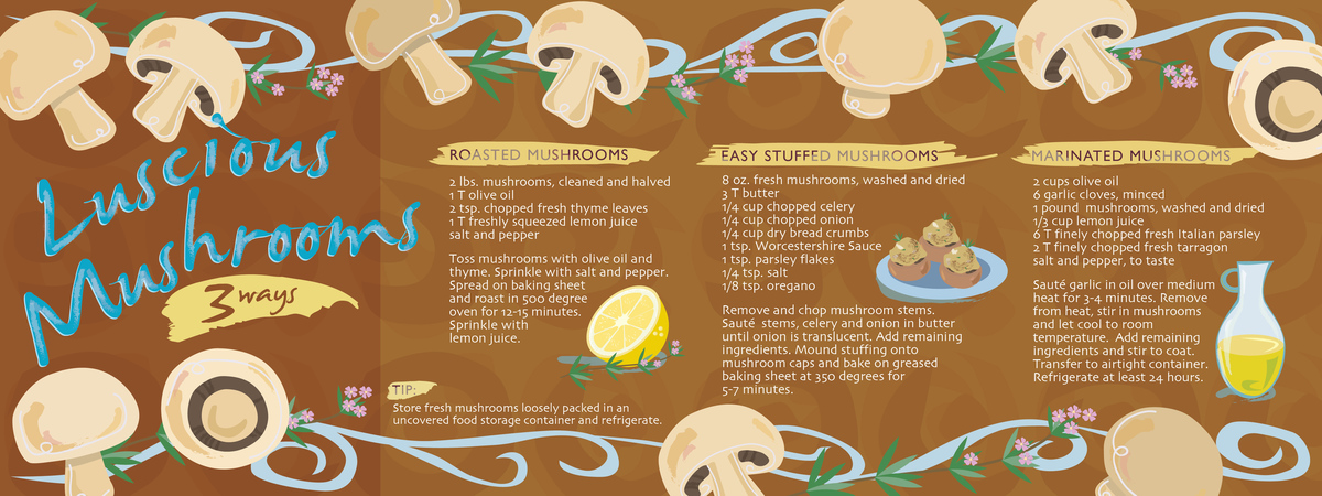 Saldivar mushroom recipes