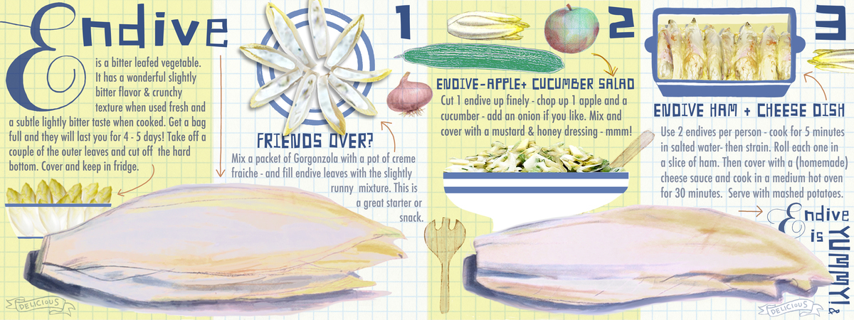 Endive is yummy