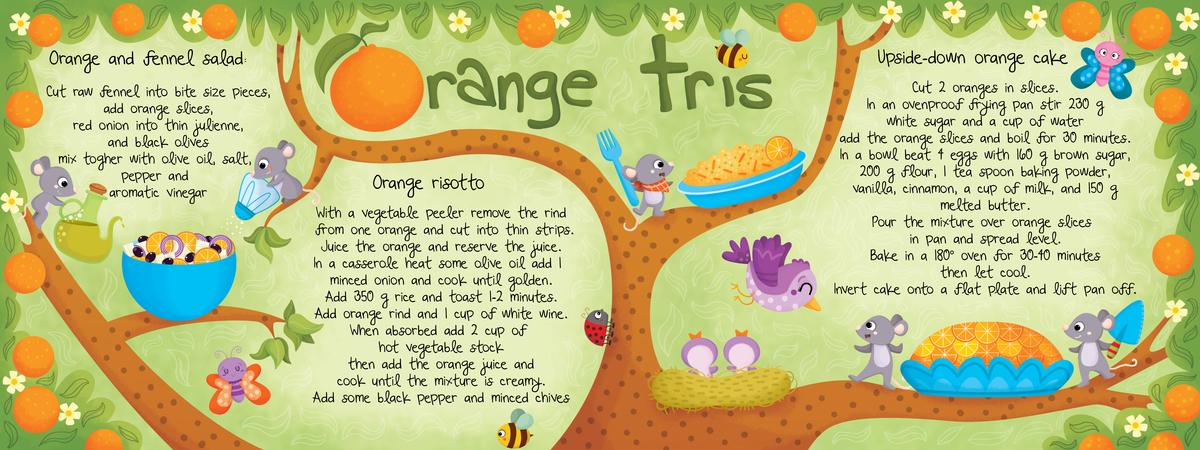 Orange tris