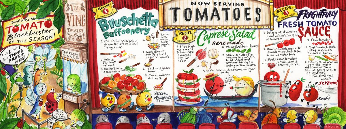 Sngbenitez tomatoes gladentry