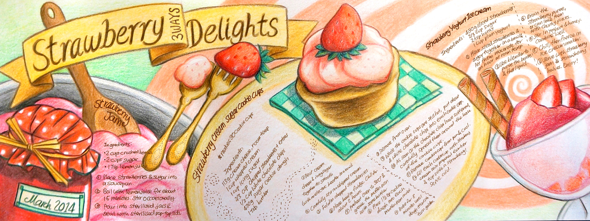 Strawberry delights