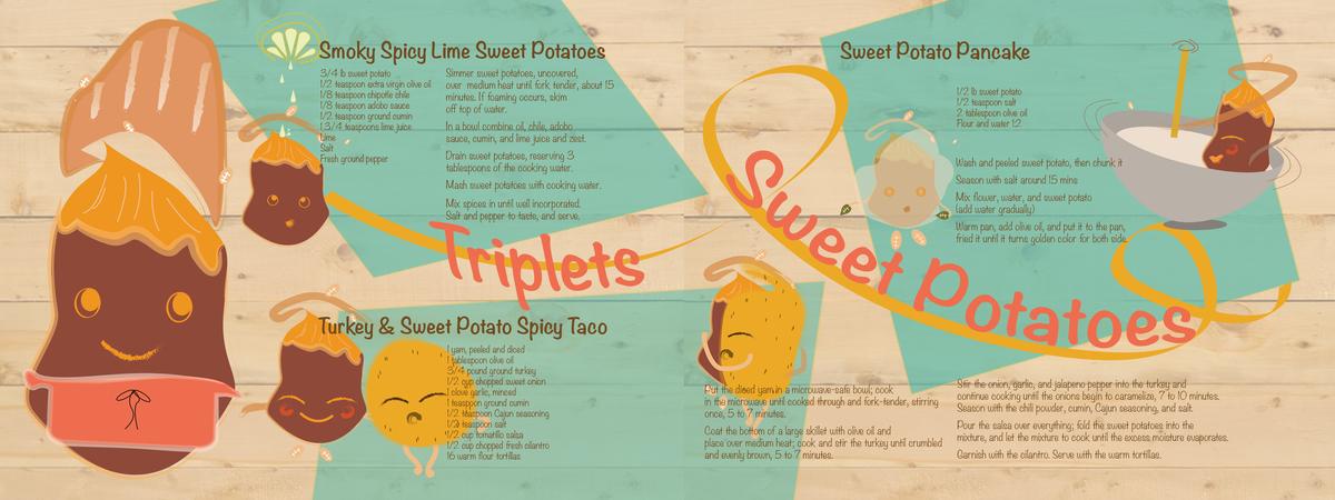 Tripletssweetpotatoes