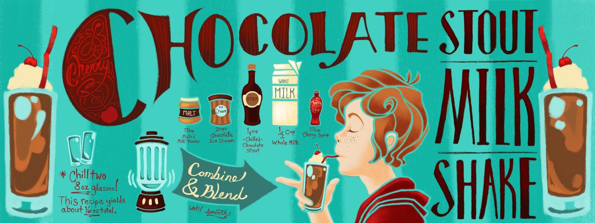 Tufts   stout shake illustration