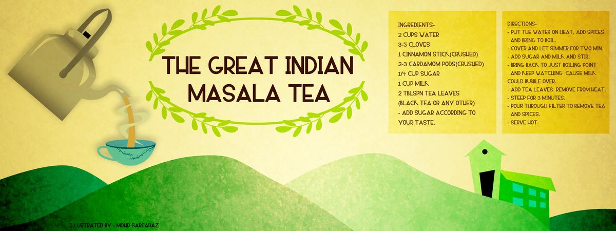 The Great Indian Masala TeaChai By Mohd Sarfaraz