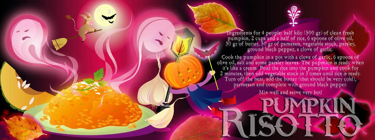 Pumpkin risotto by chiara pallotti