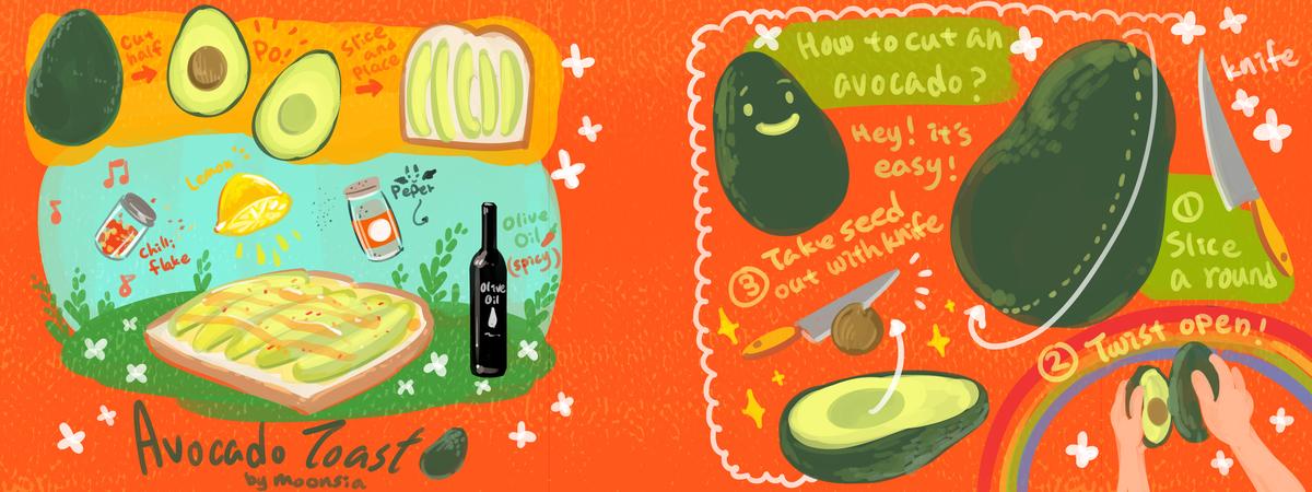 Avocado toast 2
