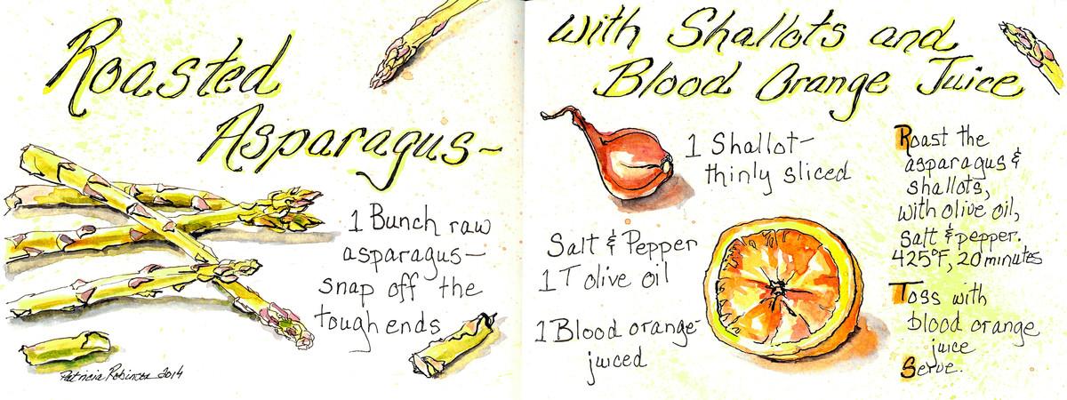 Color asparagus