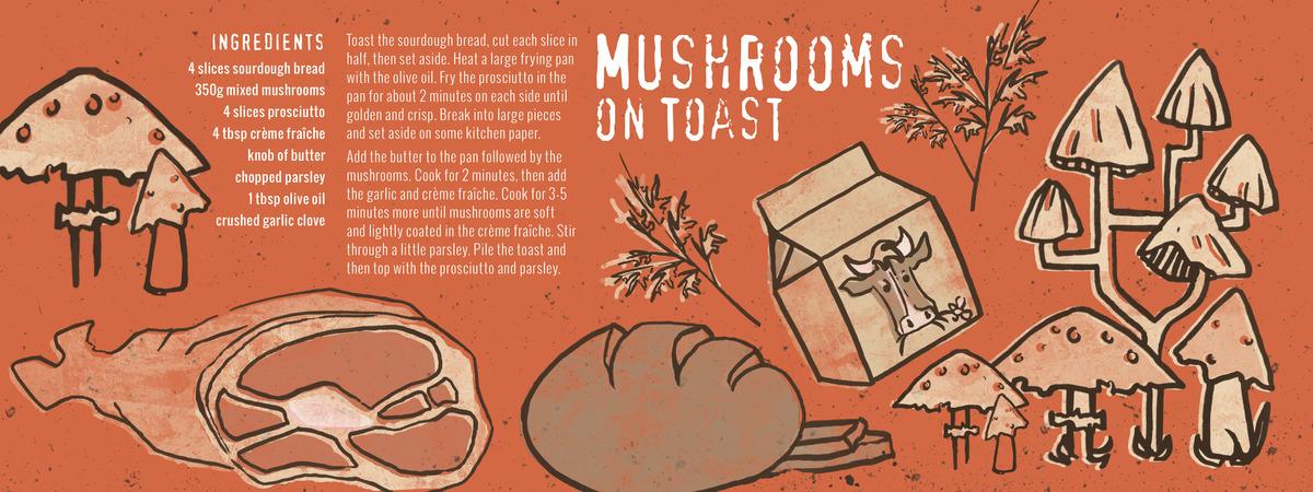 Miller phoebe mushroomsontoast