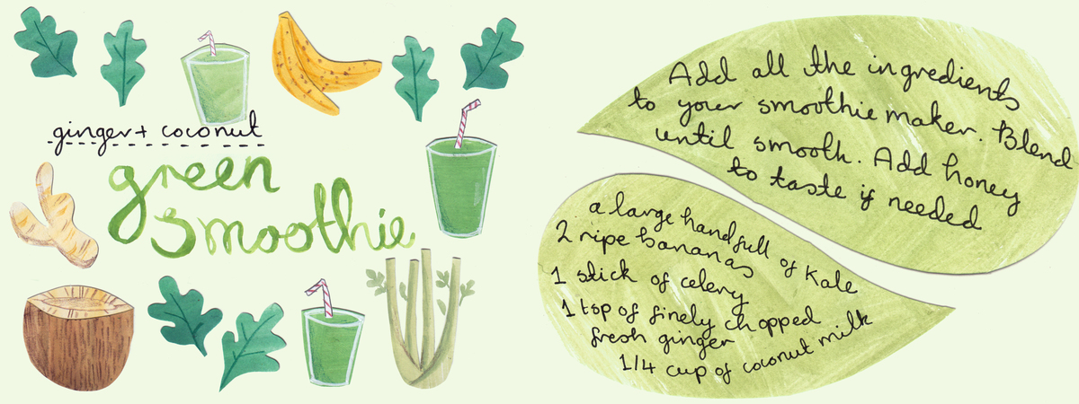 Green smoothie 2